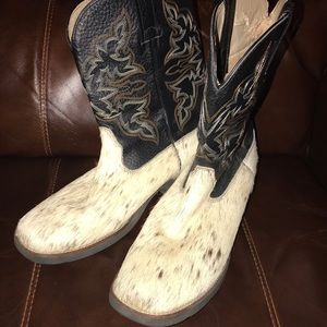 Real Horse Hair Ropers Sz 10